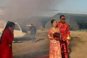 Trào lưu đám cưới siêu xa xỉ, gây 'suy đồi đạo đức' ở Trung Quốc