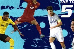 4 cầu thủ xuất sắc nhất bán kết lượt đi AFF Cup: Tôn vinh Văn Đức