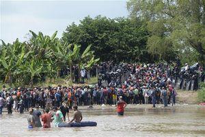 Trung Mỹ phối hợp với Mexico giảm dòng người di cư
