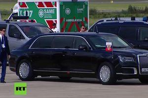 Siêu xe của Tổng thống Putin khuấy động truyền thông tại G20