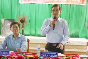 Ông Trần Châu 'lấy tính mạng đảm bảo' cho dự án điện mặt trời Phù Mỹ