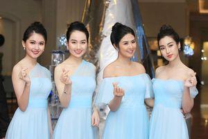 Nhìn lại dàn phù dâu 'tuyệt sắc' trong đám cưới Á hậu Thanh Tú