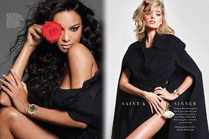 Hai mỹ nhân Victoria's Secret táo bạo đọ sắc