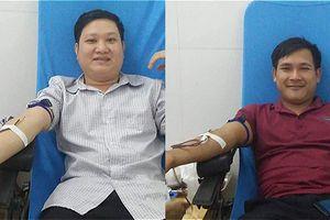 2 người vượt gần 300km xuyên đêm hiến máu hiếm cứu người xa lạ