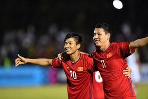 Phan Văn Đức dẫn đầu bảng chấm điểm trận Việt Nam - Philippines