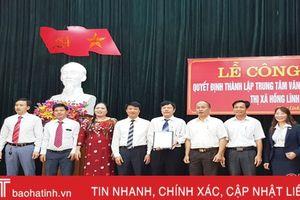 Ra mắt Trung tâm Văn hóa - Truyền thông thị xã Hồng Lĩnh