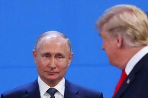 Tổng thống Putin trò chuyện chớp nhoáng với ông Trump tại hội nghị G-20