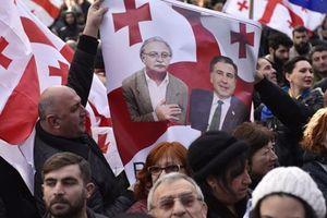 Biểu tình phản đối kết quả bầu cử tổng thống tại Gruzia