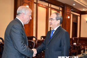 Tăng cường hợp tác giữa Thành phố Hồ Chí Minh và Vương quốc Anh