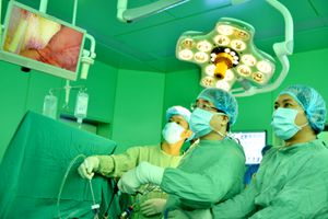 Trung tâm huấn luyện phẫu thuật nội soi đầu tiên tại Việt Nam được công nhận chuẩn quốc tế