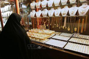 Giá vàng châu Á chạm mức cao nhất trong hơn ba tuần
