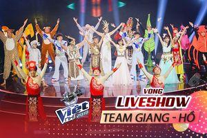 'Khó lòng nuốt nổi' khi xem lại chiến thắng của đội Giang - Hồ tại Vòng Liveshow 3