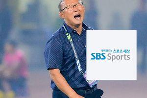 Nhìn lịch phát sóng của SBS Sports mới thấy thầy trò ông Park Hang Seo đang gây 'sốt' tại Hàn Quốc đến mức nào
