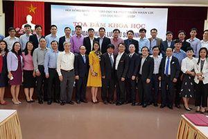 Quy hoạch mạng lưới cơ sở GDNN và phát triển đội ngũ nhà giáo GDNN