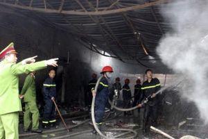 Vĩnh Phúc: Hơn 100 tỷ đồng thiệt hại do cháy