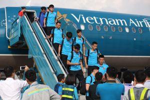 Đội tuyển Việt Nam đã về đến Hà Nội