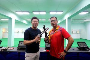 Huyền thoại Jin Jong Oh tái ngộ Hoàng Xuân Vinh, chia sẻ bí quyết 4 lần vô địch Olympic