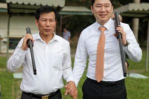 Bộ trưởng Nguyễn Ngọc Thiện gặp mặt, giao lưu cùng xạ thủ 4 lần vô địch Olympic, Jin Jong Oh