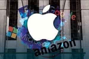 Cuộc rượt đuổi nghẹt thở giữa Apple, Amazon và Microsoft