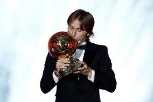 Luka Modric giành giải Quả bóng Vàng 2018, kết thúc 10 năm trị vì của Ronaldo và Messi