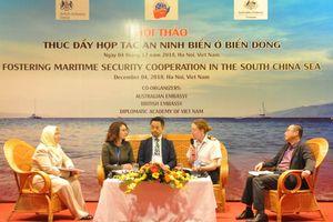 Thúc đẩy hợp tác an ninh biển ở Biển Đông