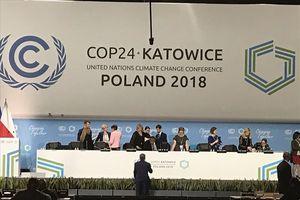 COP24: Chống biến đổi khí hậu gặp thách thức vì cạn tiền