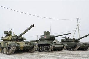T-90 Việt Nam tham dự cuộc đua đặc biệt tại Nga