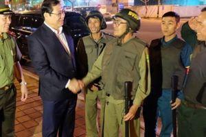 Chủ tịch Đà Nẵng kiểm tra đội chống tội phạm trong đêm