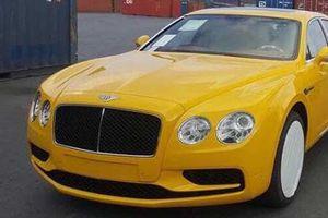 Bentley Flying Spur V8 S hơn 16 tỷ cập cảng Hải Phòng