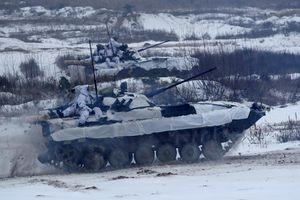 Mục kích Quân đội Ukraine tập dượt, lên dây cót 'quyết đấu' Nga