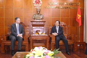 Hoa Kỳ luôn sẵn sàng hợp tác với Việt Nam nhằm thúc đẩy phát triển giáo dục
