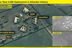 Nga triển khai 'rồng lửa' S-400 sát vách Ukraine giữa lúc căng thẳng leo thang
