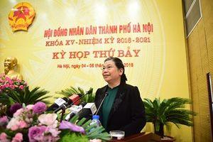 Phó Chủ tịch Quốc hội Tòng Thị Phóng: Thực hiện thắng lợi các chỉ tiêu, nhiệm vụ phát triển Thủ đô