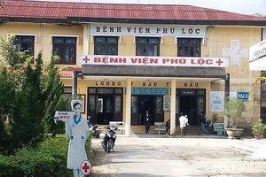 Hai mẹ con sản phụ tử vong tại bệnh viện Phú Lộc