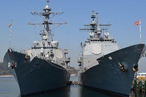Động thái 'bất thường' của TQ sau khi loạt tàu Mỹ qua eo biển Đài Loan