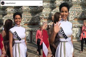 Clip: H'Hen Niê 'ghi điểm' tại Miss Universe 2018 với thứ đặc biệt này