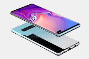 Đây chính là video mô tả thiết kế Galaxy S10+, bao gồm cảm biến vân tay thế hệ mới và camera 'viên thuốc'