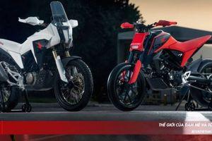 Bộ đôi xe địa hình Honda CB125X và CB125M Concept ra mắt tại EICMA