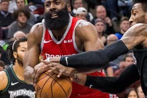 Hụt hơi cuối trận, James Harden đau đớn nhìn Timberwolves cướp đi chiến thắng