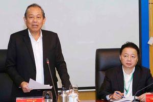 Đoàn kiểm tra 717 của Bộ Chính trị làm việc với Ban Cán sự Đảng Bộ Tài nguyên và Môi trường