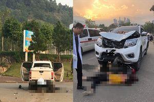 Lào Cai: Chồng tử vong, vợ nguy kịch khi va chạm với xe ô tô bán tải