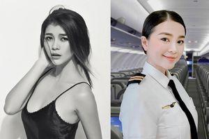 Rời showbiz gần 8 năm, Diệu Thúy trở thành 'Nữ phi công xinh đẹp nhất Việt Nam'