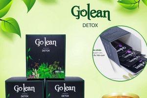 Thu hồi 'khẩn' sản phẩm không đảm bảo an toàn thực phẩm Go Lean Detox