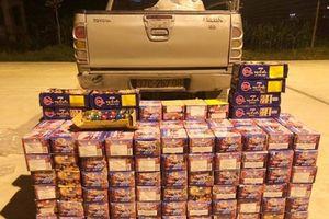 Bắt gần 400 kg pháo nổ từ Lào về Nghệ An tiêu thụ