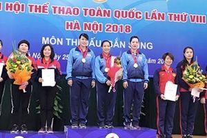 Đội Taekwondo giành thêm 1 HCB cho đoàn CAND