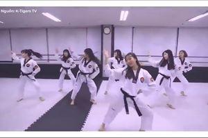 Dàn võ sinh cover BBoom BBoom theo phong cách Taekwondo ấn tượng