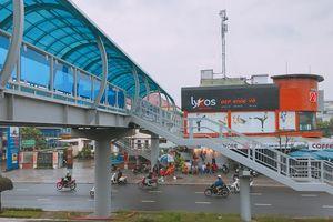 Cầu vượt đi bộ đầu tiên ở Đà Nẵng