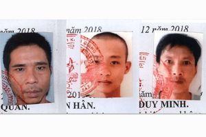 Trốn trại lúc đêm khuya, 3 phạm nhân bị truy nã đặc biệt