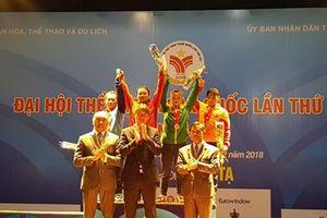 Vương Thị Huyền 3 lần phá kỷ lục của Đại hội