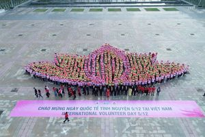 Hơn 1.000 tình nguyện viên tham gia ngày hội 'Sắc hồng nhân ái'